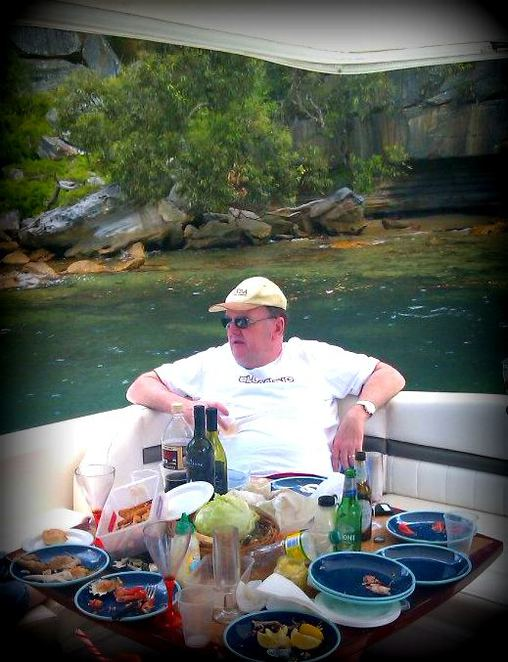 Boat, Sydney Harbour, fathers day