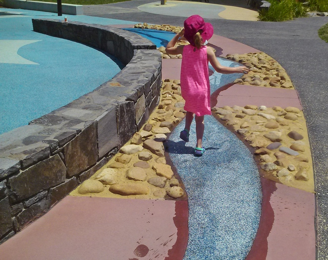 boundless, playground, canberra, ACT, water play, splash parks, pools,