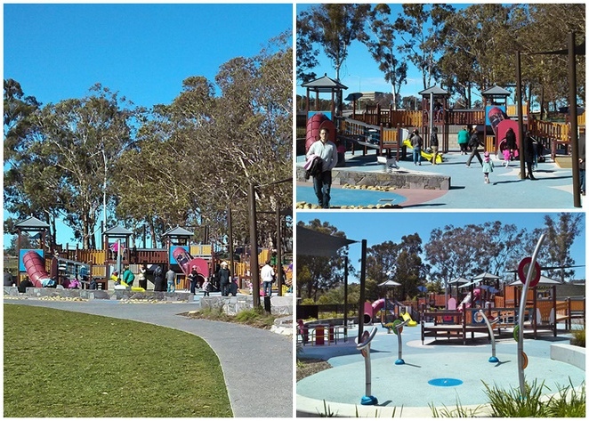 boundless playground, canberra city, kids, children, playground, fun things to do, national carillon, best parks in canberra,