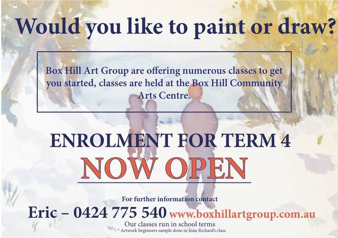 box hill art group, art exhibition, box hill town hall, whitehorse arts association, artists, paintings, community event, fun things to do, painting, watercolour, oil paints, acrylic paints