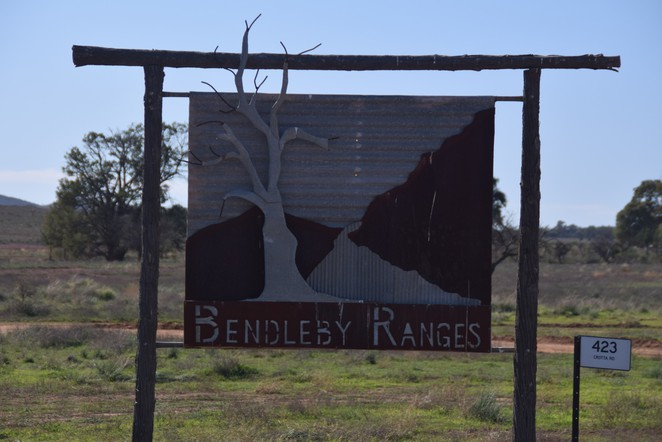 Bendleby Ranges, Hungry Ranges, Acacia Cottage, Ridge Top Track, Builly Goat Track, Hidden Valley Walk, Orroroo, Bendleby Mine, Gumdale Cottage, Crotta Homestead