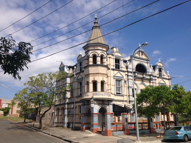 The Broadway Hotel is a famous hotel that remains closed since 2010 after a fire. Hopefully soon the castle like building will be given a new lease on life