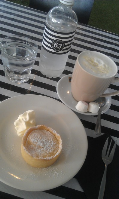 cafe 63, paddington, latrobe terrace, white hot chocolate