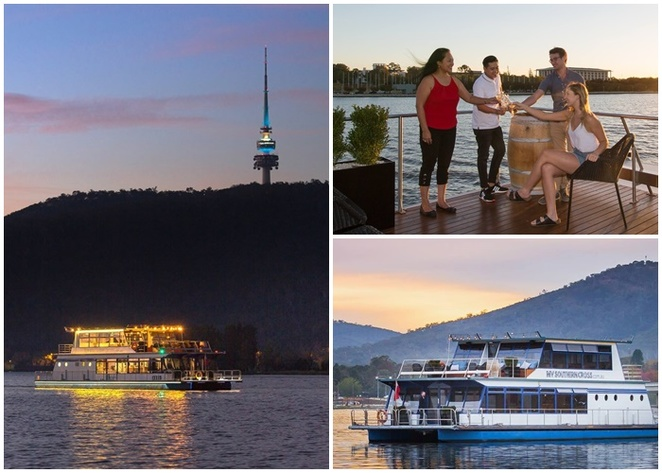 canberra southern cross cruises, new years eve, canberra, whats on, things to do, new years eve fireworks, whats on, cruise boats, lake burley griffin, ACT,