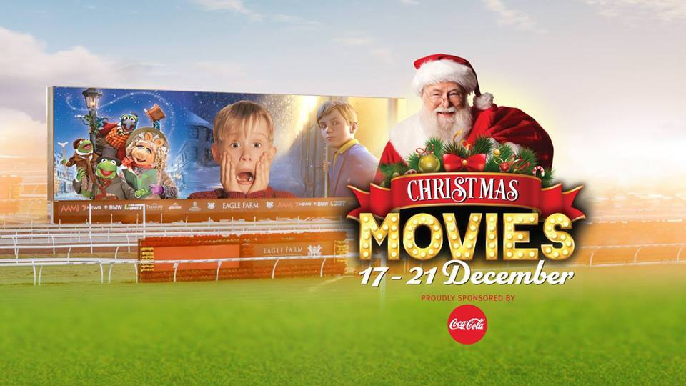 Christmas Movies Trackside - Big Screen on the Green - Brisbane