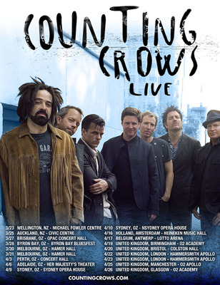 Counting Crows Live 2013