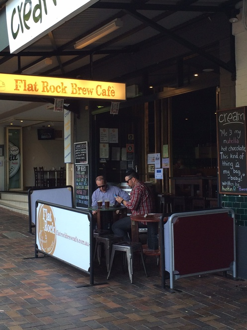 Craft Beer North Shore Flat Rock Brew Cafe Naremburn Nano Brewery