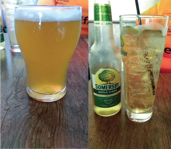 cricketers arms scorcher, somersby cider, brisbane, 2forks, milton
