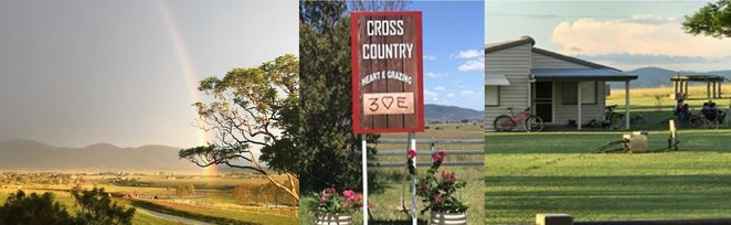cross country, toogoolawah, airbnb, scenery, country, peace, rail trail, horses, cattle