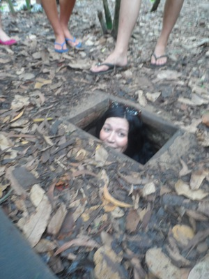 Cu Chi Tunnels, Vietnam War,Attractions,Saigon,Ho Chi Minh