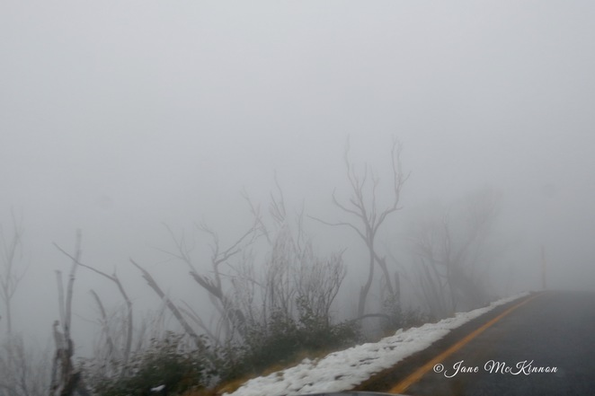Drive to Mount Hotham
