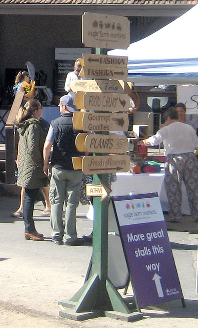 Eagle farm markets has a little bit of everything for everyone