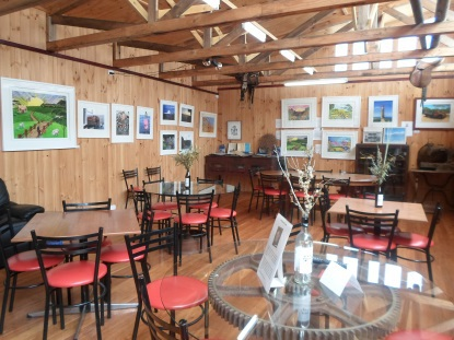 Emu Ridge Eucalyptus Oil Distillery dining room