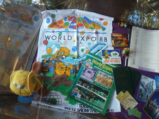 EXPO '88 memorabilia,Leisure in the Age of Technology,Brisbanelog