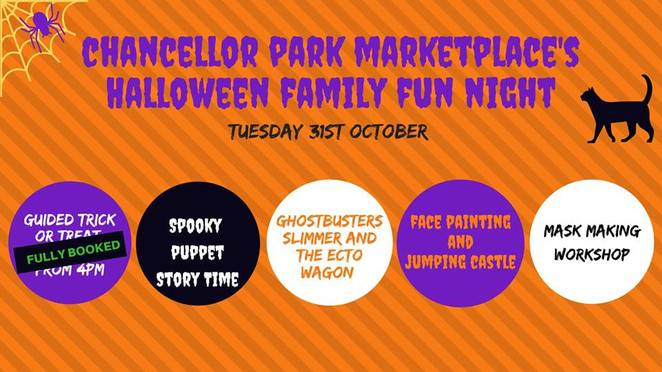 Family-friendly, Halloween Events, Sunshine Coast, ghosts, ghouls, jack-o-lanterns, candy treats, Rebound after Dark, The Big Boing Indoor Trampoline Park, Halloween Dance, prizes for best costume, Halloween at Noosa Marina, FREE, trick or treat, magician, spooky boat rides, music, balloons, face painting, Halloween FestEvil Family Night, Aussie World, haunting scare-a-bration, fireworks extravaganza, food, drinks, A Haunted house for Elki, 4 year old with leukaemia, donations to help Elki's family, Chancellor Park Marketplace's Halloween Family Fun Night, Sippy Downs, jumping castle, The Coffee Club Chancellor Park, Ghost Busters, food, drinks