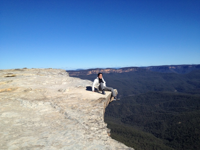 Flat Rock, Blue Mountains, Wentworth Falls