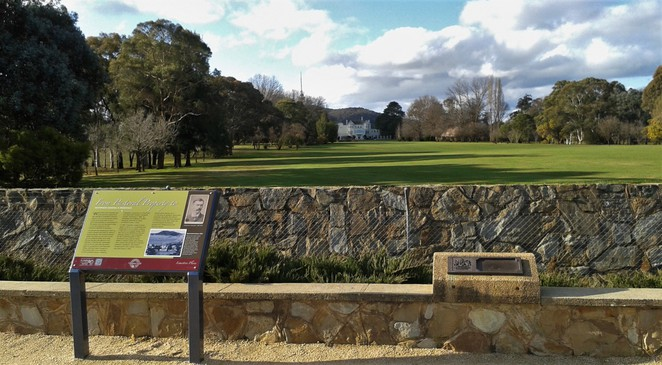 government house lookout, canberra, canberra tracks, limestone plains, ACT, self drives,