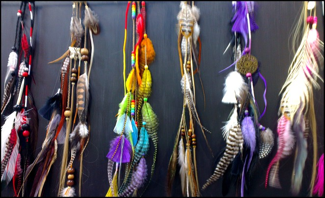 Hair Feathers, Free Markets, Willunga Market