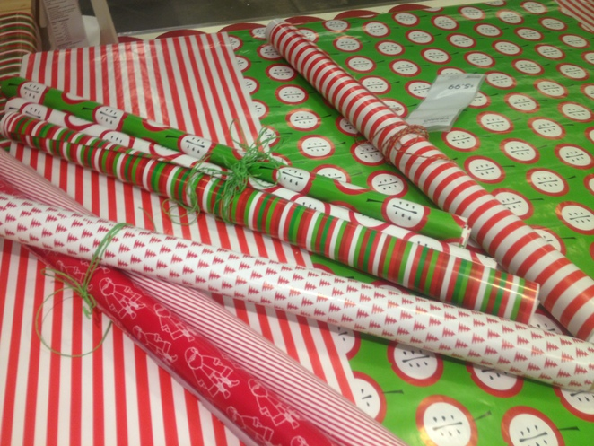 ikea christmas wrapping paper
