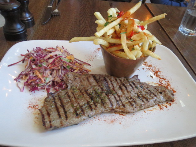 Jamie's Italian Super Lunch, Italian Steak and Fries, Adelaide