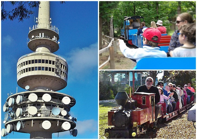 kids, families, things to do with kids, under $10, fun things to do, school holidays, family friendly, things to do for under $10, cheap, free, budget, telstra tower, canberra, kingston miniature railway, yarralumla play station, miniature train rides,