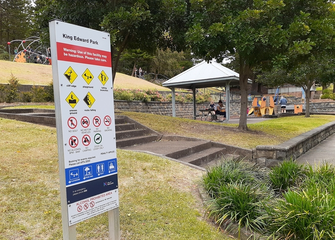 king edward park, playground, king edward park newcastle, newcastle, NSW, playgrounds, picnic areas, BBQ areas, parks, bogey hole, swimming, swimming pools, convict built swimming pool,