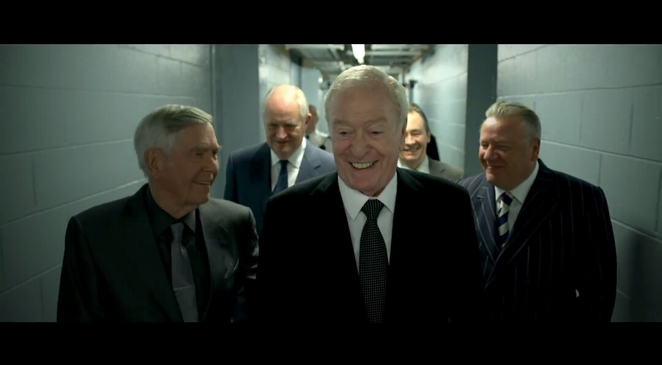 King Of Thieves. Copyright Working Title Films and StudioCanal.