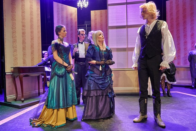 Lady Windermere's Fan, Oscar Wilde, theatre review, Rob Horton, infidelity, scandal, gossip, Victorian era. lady windermere, lord windermere, duchess of berwick