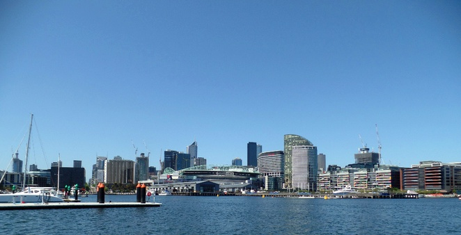 melbourne, docklands