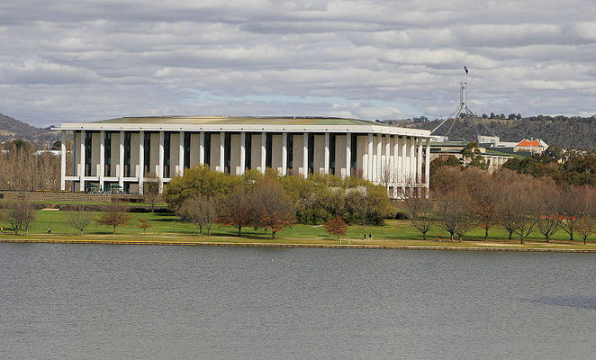 National Library, New Parliament House