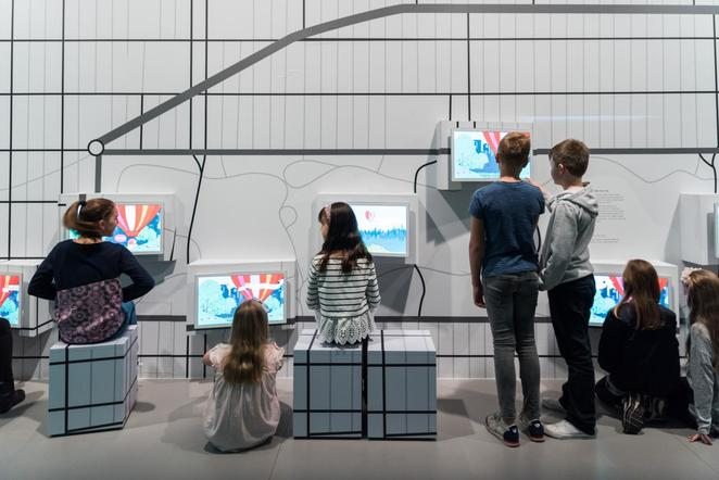 New York! New York! for kids exhibition NGV interactive exhibition