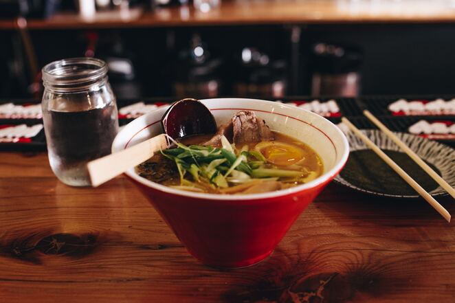 noodle soup, eating out, dining