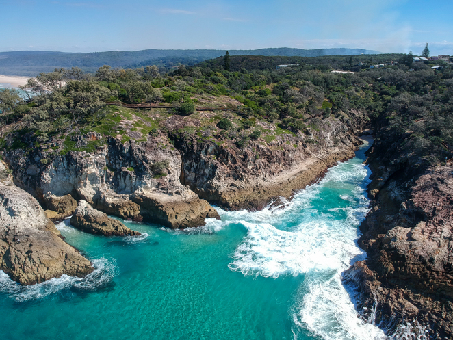 The hardest thing about this trip to North Stradbroke Island is leaving!