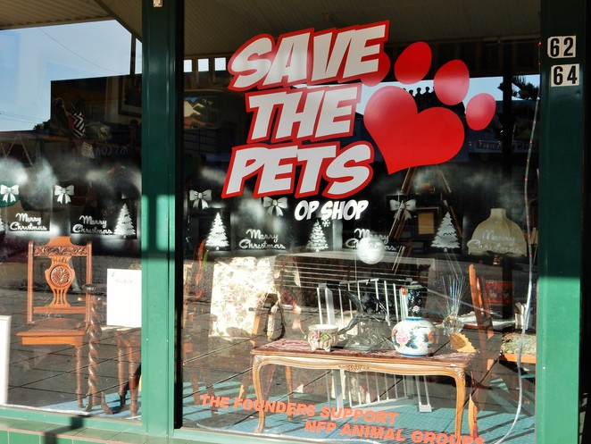 op shops, opportunity shops, thrift shops, charity shops, Save the Pets, Animal welfare, melbourne day trips, wonthaggi,