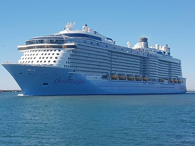 Ovation of the Seas, Royal Caribbean International, quantum class, Cruise ship, Hobart, Adelaide, Sydney, lady Ruthven reserve, north haven