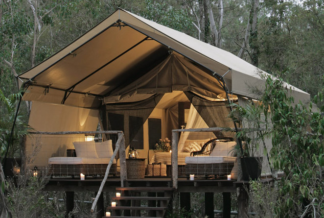 paperbark, camp, tent, luxury, accommodation, jervis bay, tourism