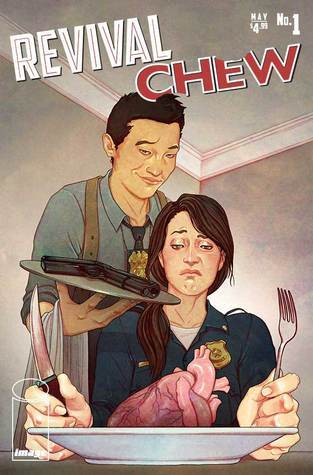 revival chew, Revival, comics, comics about zombies, stories about the dead rising, crossovers, Chew