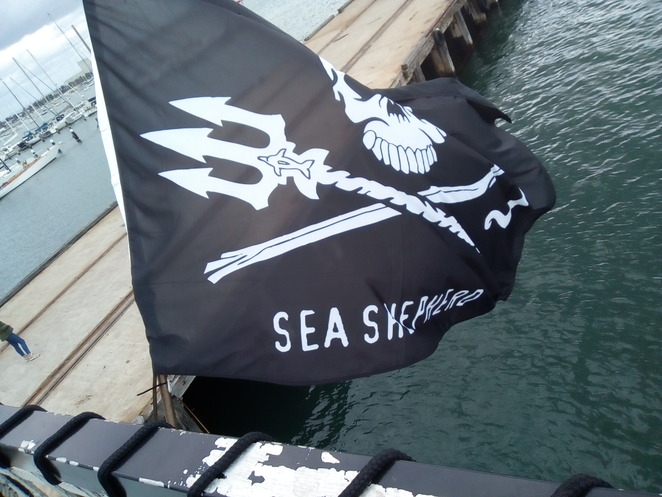 Sea Shepherd ocean defence tour animal justice party