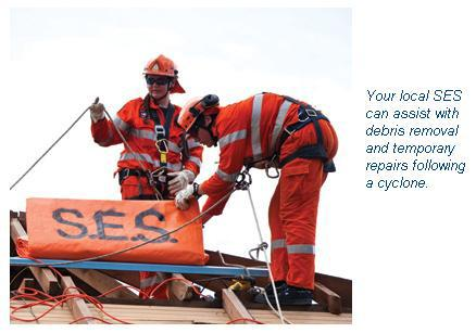 SES Qld storm how to prepare for a cyclone