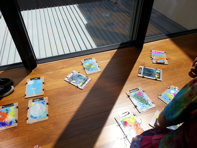 Sunprints,museum of brisbane, children's holiday activity