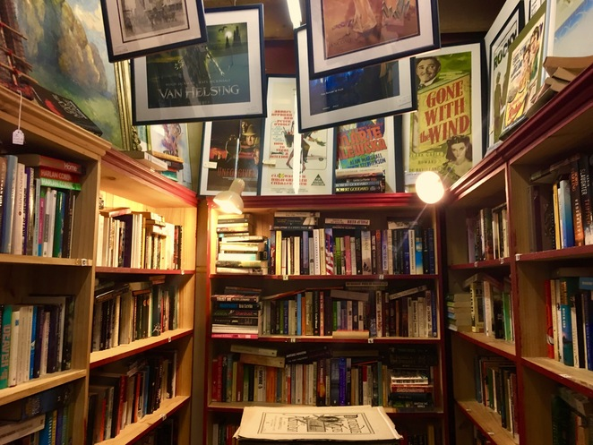 Victory Theatre Antique Centre Blackheath, Image by Jade Jackson, Secondhand books Blackheath, Used bookshops blue mountains, Blue Mountains bookshops, horror, thriller, mystery