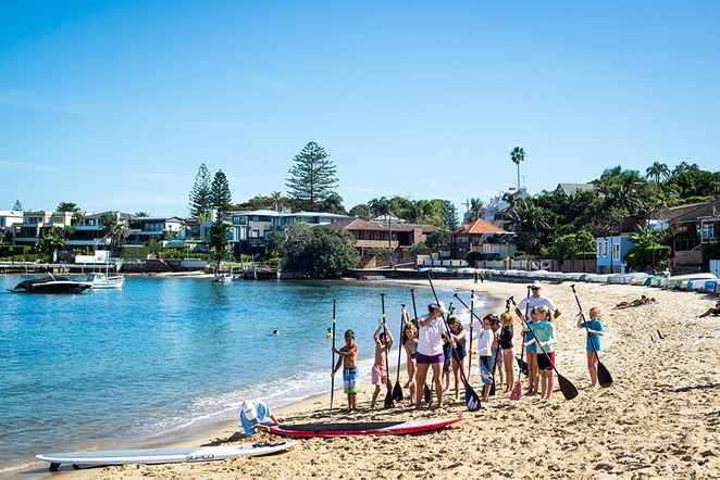 watsons bay boutique hotel, beach club, free school holiday activities