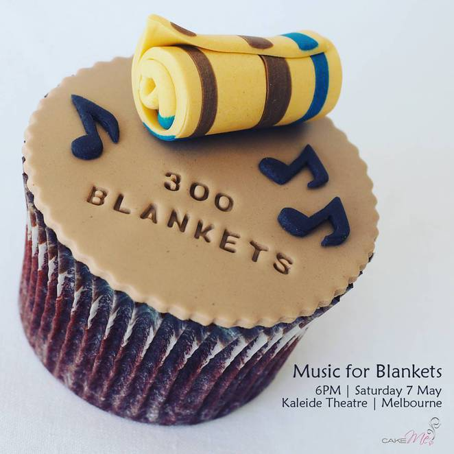 300 blankets, fundraiser, charity, music for blankets, rmit kaleide theatre, help the homeless, keep the homeless warm, dance,