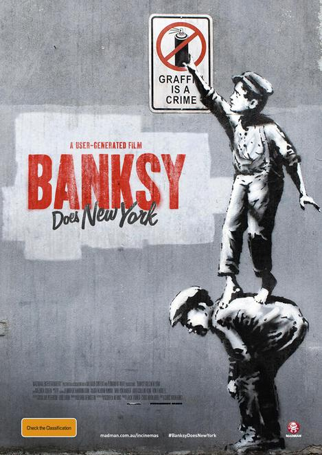 Banksy Does New York, Banksy Does New York Film Review, Banksy Does New York Movie Review, Film Reviews, Movie Reviews, Documentaries, Cinema, New Releases