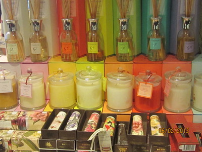 Candles, air diffusers