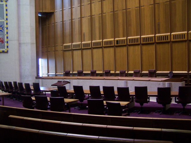 Court Room 1, High Court of Australia, Canberra