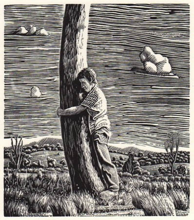 David Frazer, Tooth and Nail, wood engraving