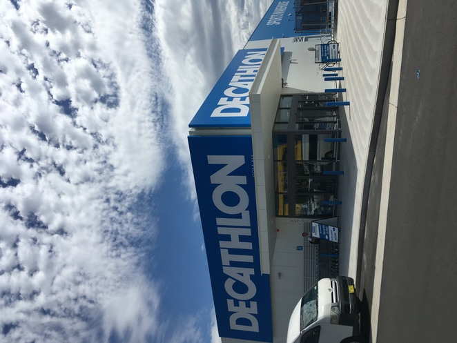 Decathlon sporting goods store in Tempe. Image by Jade Jackson Photography.