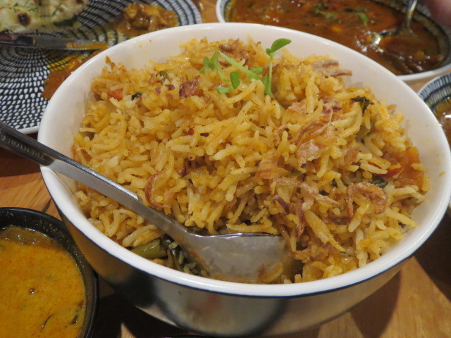 Drunk 'N' Monkey, Vegetable Biryani, Adelaide