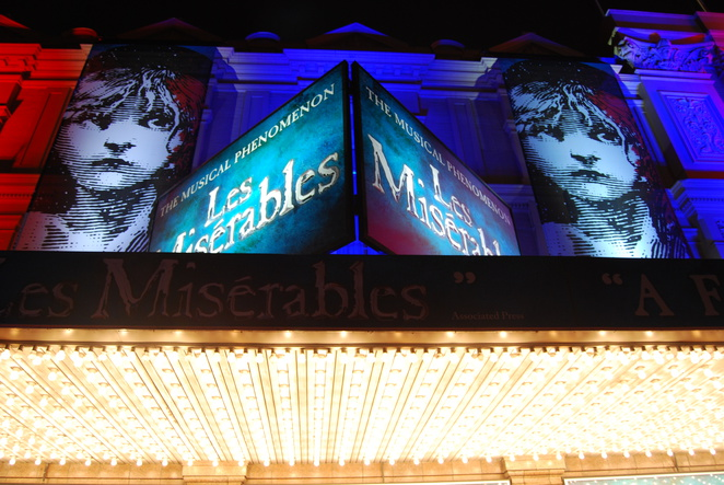 les miserables opening night melbourne